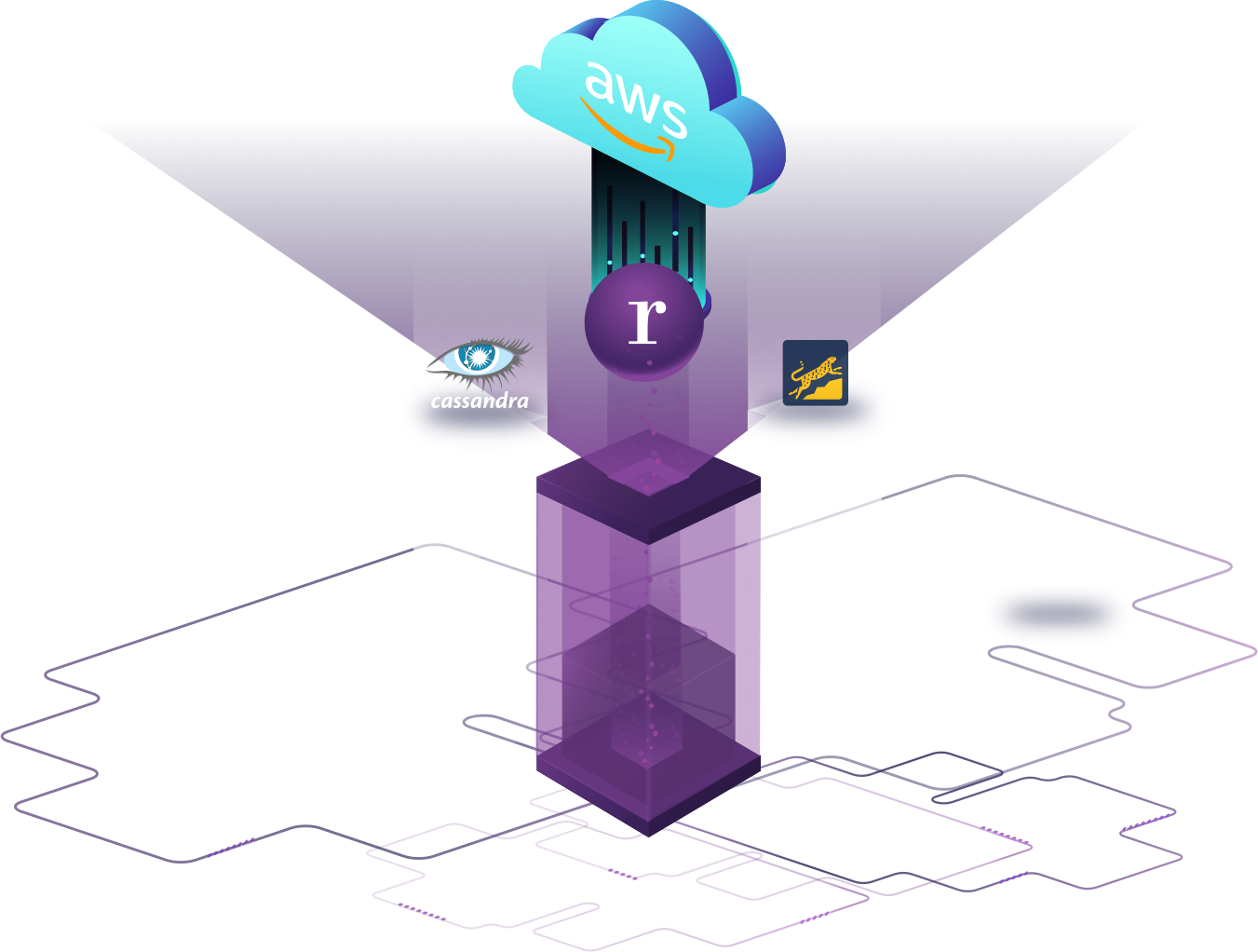 rDE on AWS transparent background